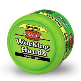 O'Keeffe's Working Hands Lip Foot Cracked Split Skin Repair Cream Large Jar Size